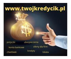 Kredyt bez wychodzenia z domu ONLINE